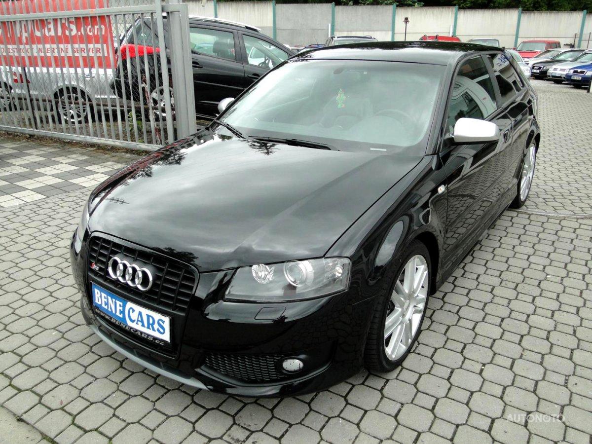 Audi S3, 2008 - celkový pohled