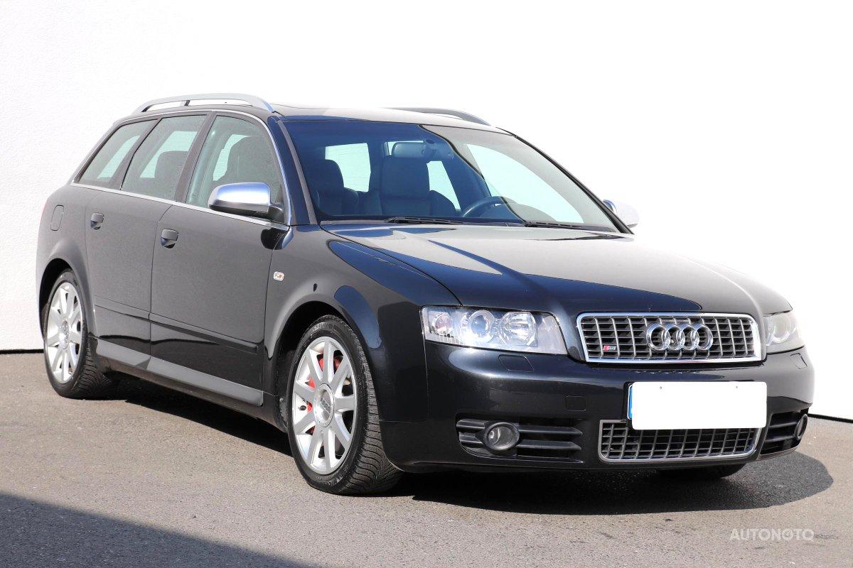Audi S4, 2004 - celkový pohled