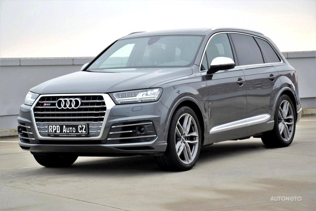 Audi SQ7, 2018 - celkový pohled