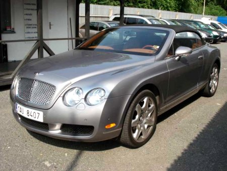Bentley Continental GT, 2007
