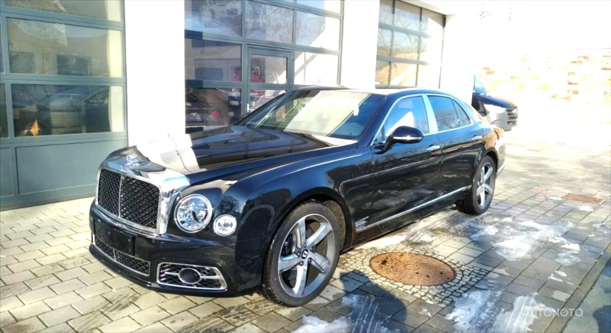 Bentley Mulsanne, 0 - celkový pohled