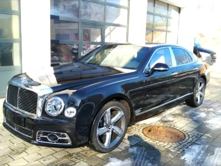 Bentley Mulsanne, 0