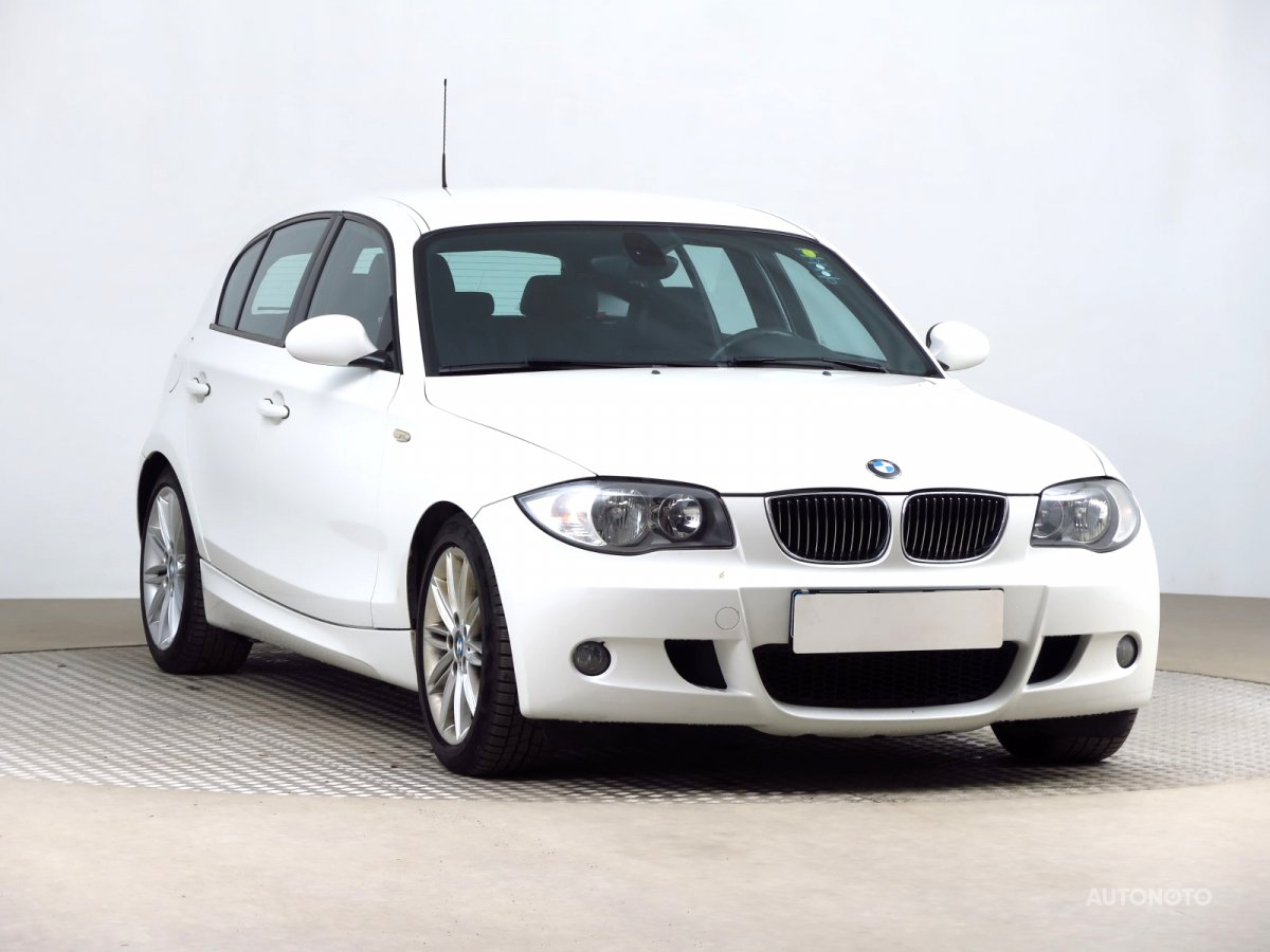 BMW 1, 2008 - celkový pohled