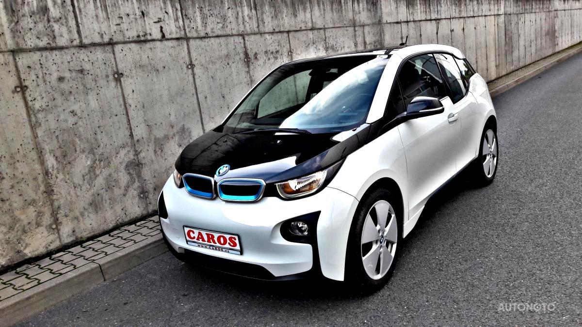 BMW i3, 2015 - celkový pohled