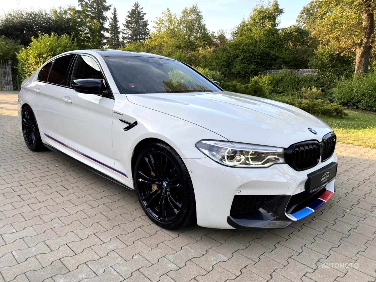 BMW M5, 2019 - celkový pohled