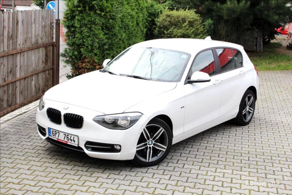BMW Řada 1, 2012 - celkový pohled