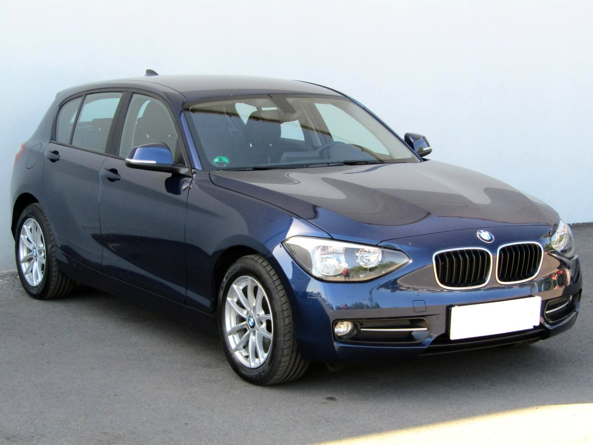 BMW Řada 1, 2018 - celkový pohled