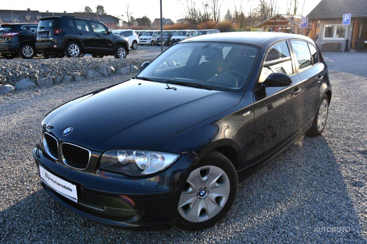 BMW Řada 1, 2007 - celkový pohled