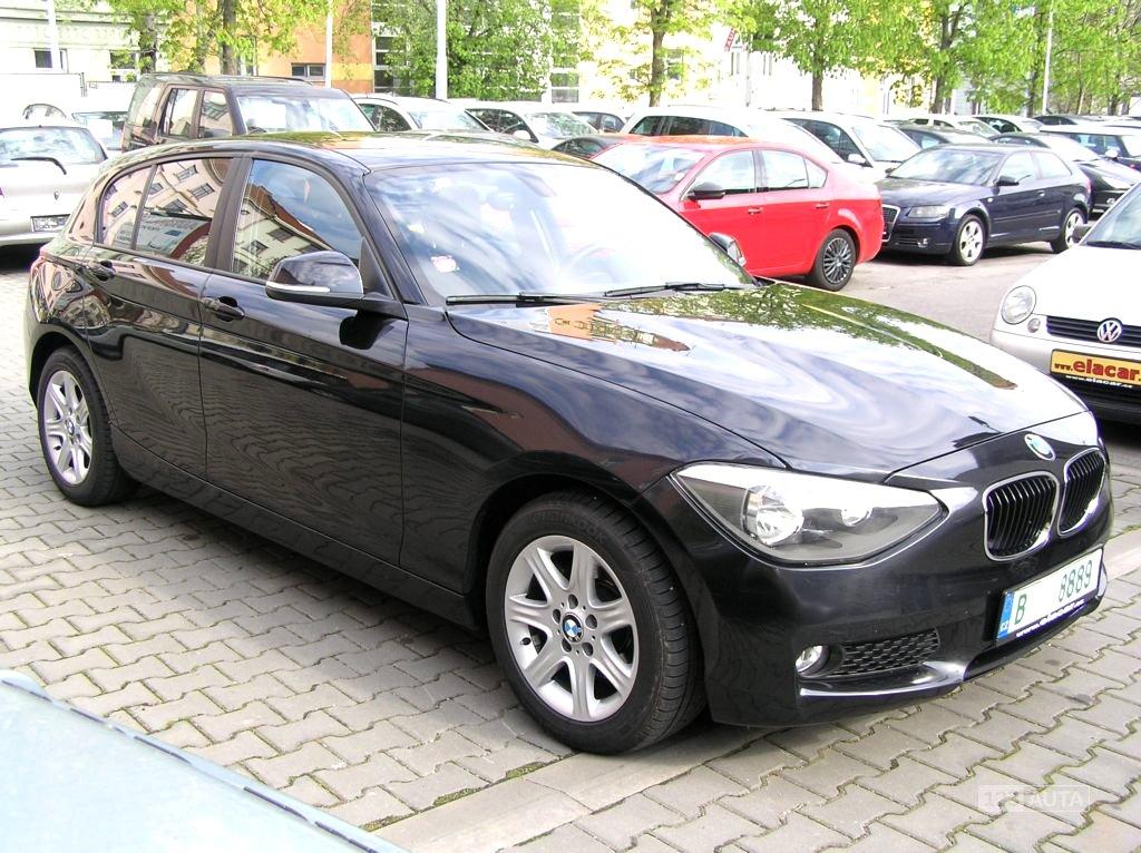 BMW Řada 1, 2013 - celkový pohled