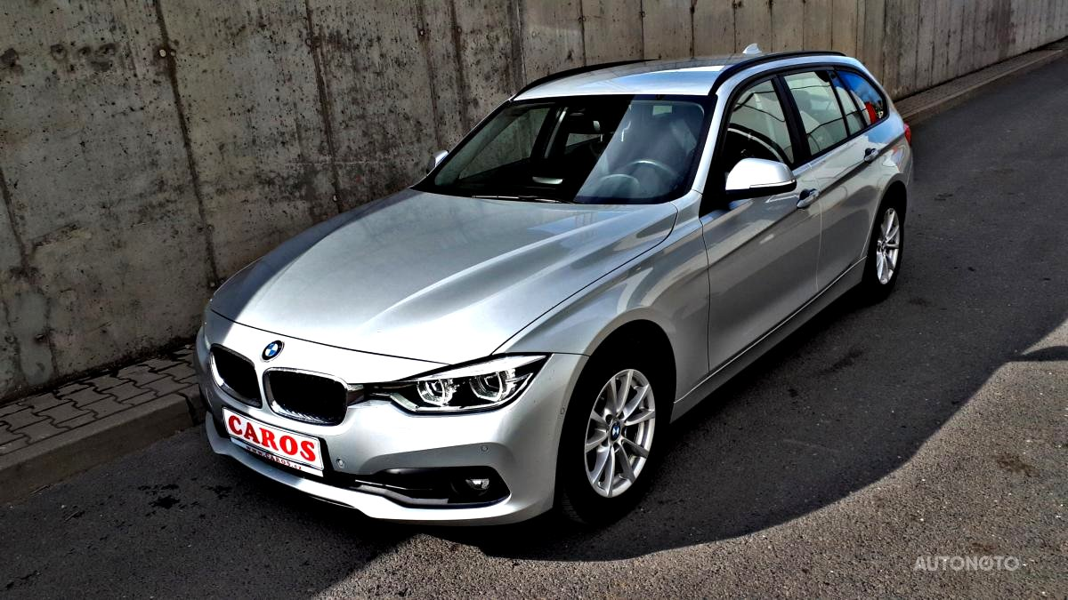 BMW Řada 3, 2016 - celkový pohled