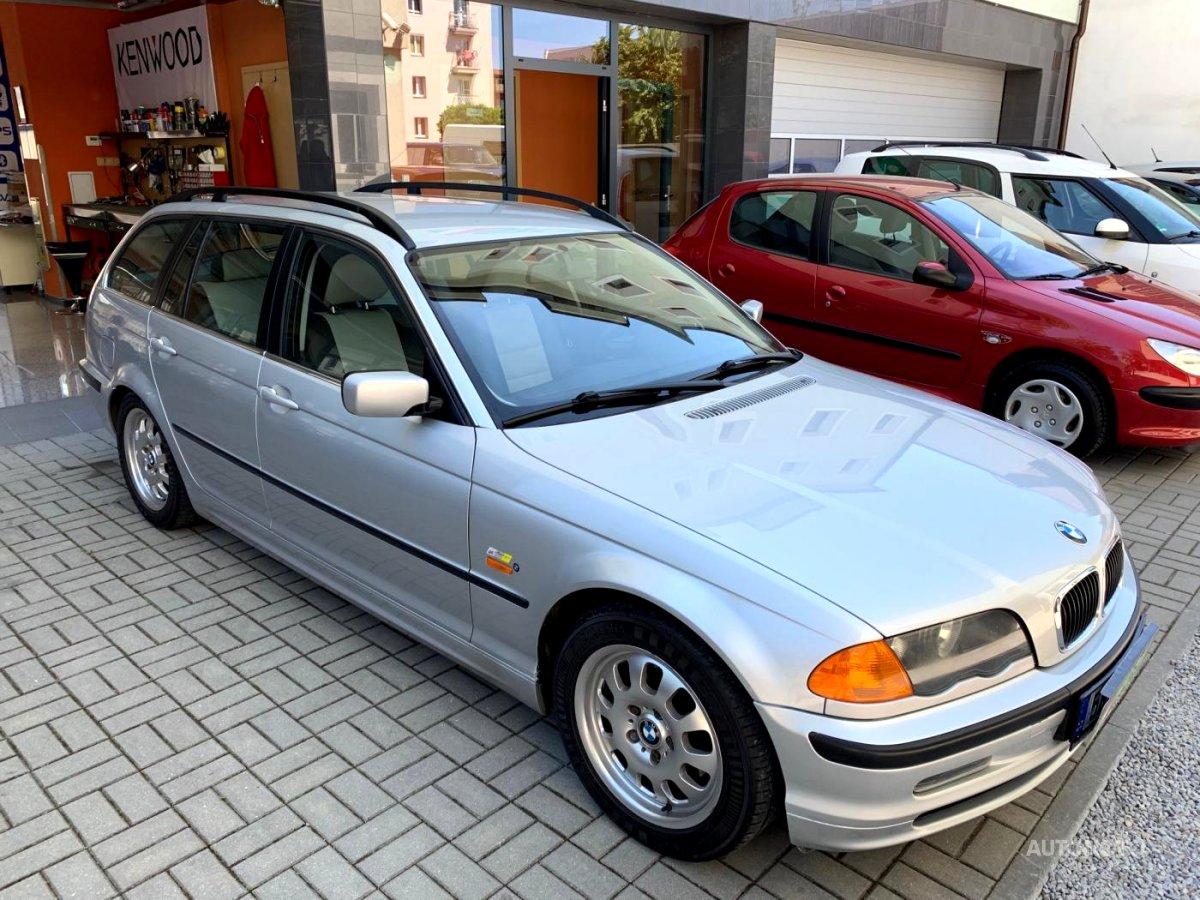 BMW Řada 3, 2000 - celkový pohled