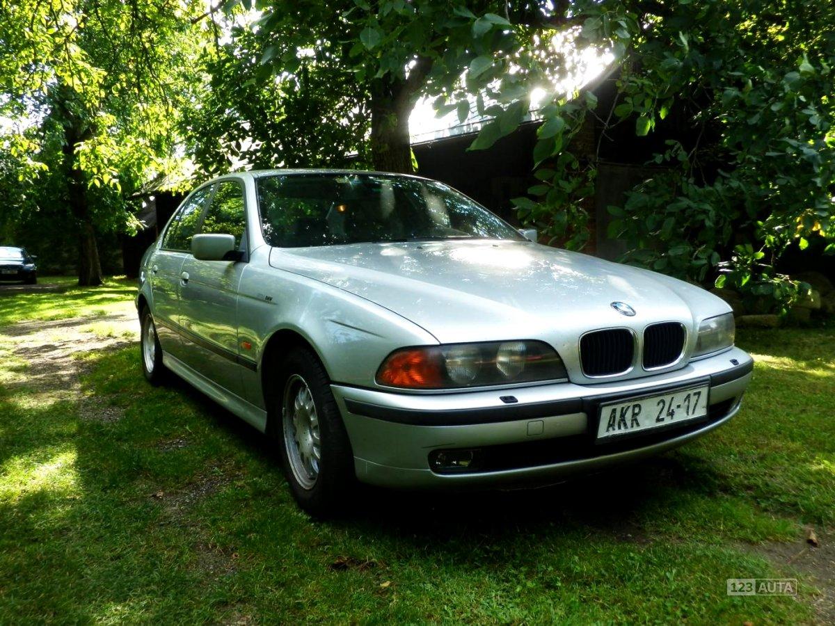 BMW Řada 5, 1997 - celkový pohled
