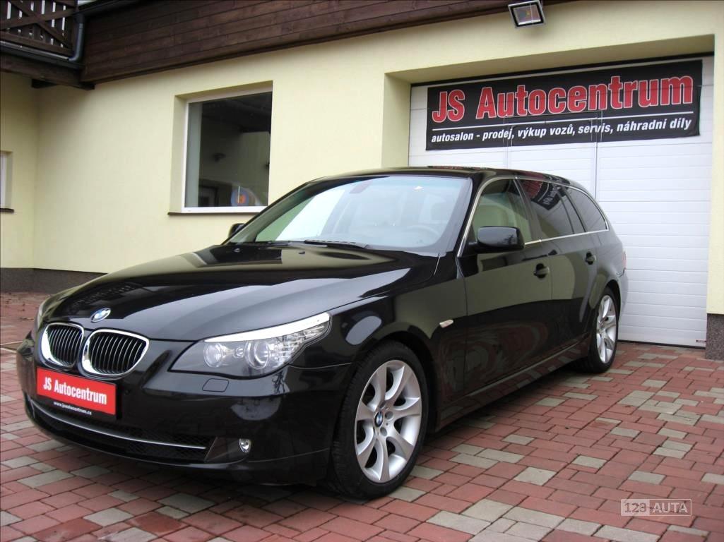 BMW Řada 5, 2009 - celkový pohled