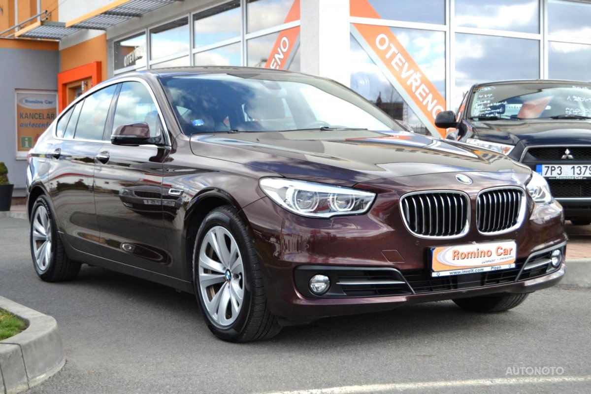 BMW Řada 5, 2013 - celkový pohled