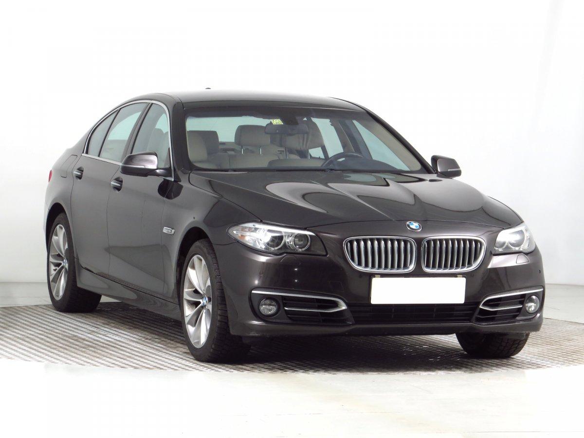 BMW Řada 5, 2014 - celkový pohled
