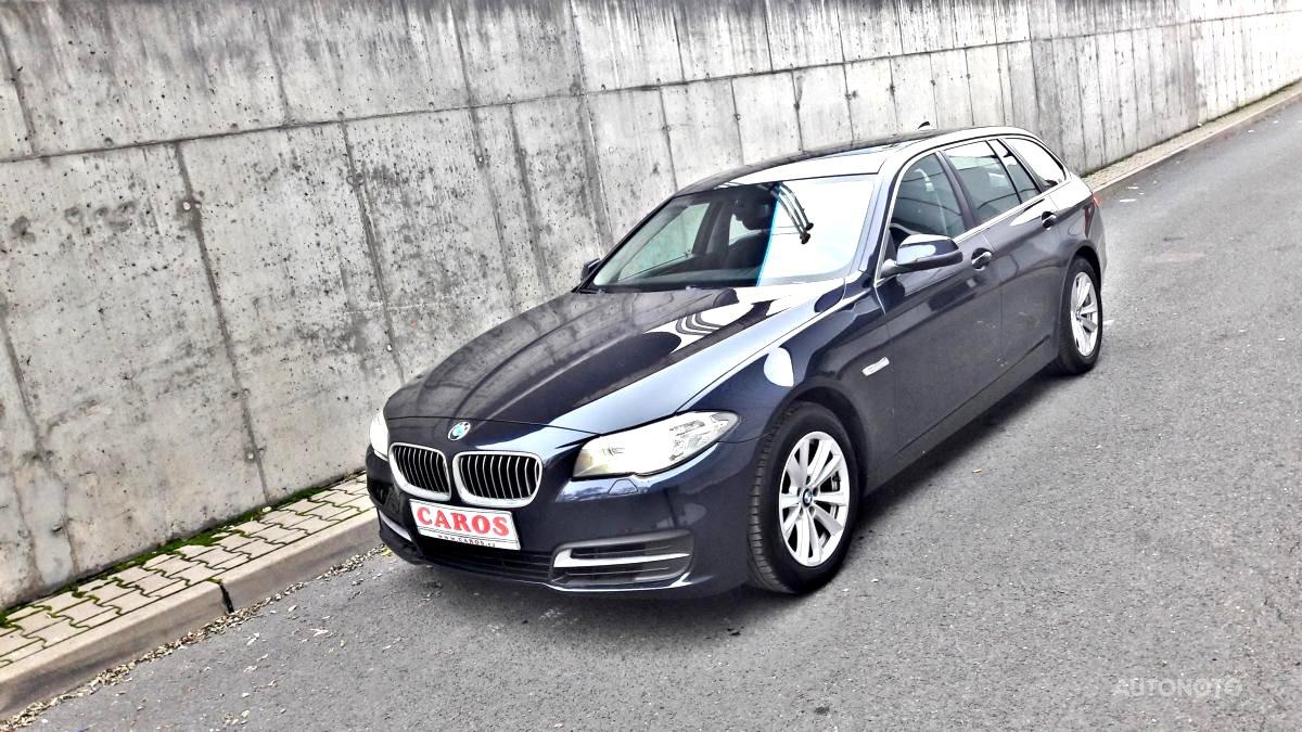 BMW Řada 5, 2015 - celkový pohled