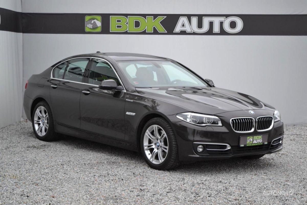 BMW Řada 5, 2016 - celkový pohled