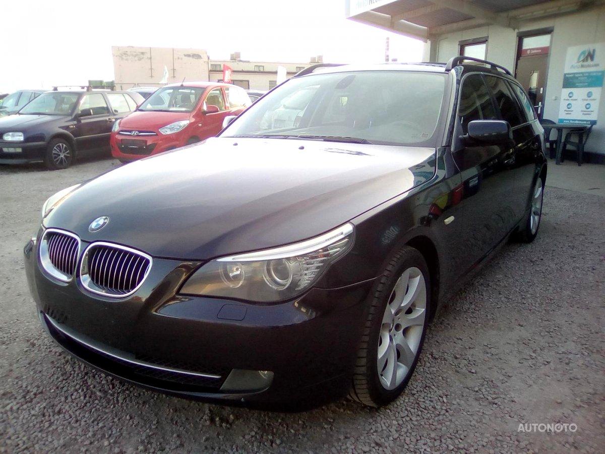 BMW Řada 5, 2007 - celkový pohled