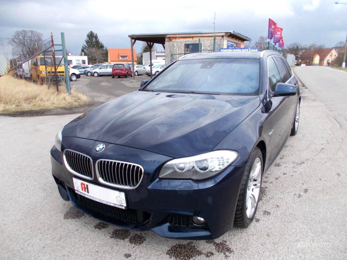 BMW Řada 5, 2010 - celkový pohled