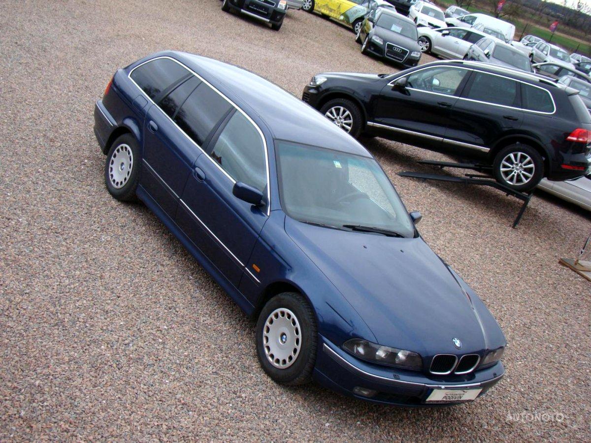 BMW Řada 5, 1998 - celkový pohled