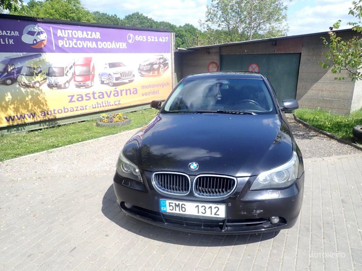 BMW Řada 5, 2003 - celkový pohled