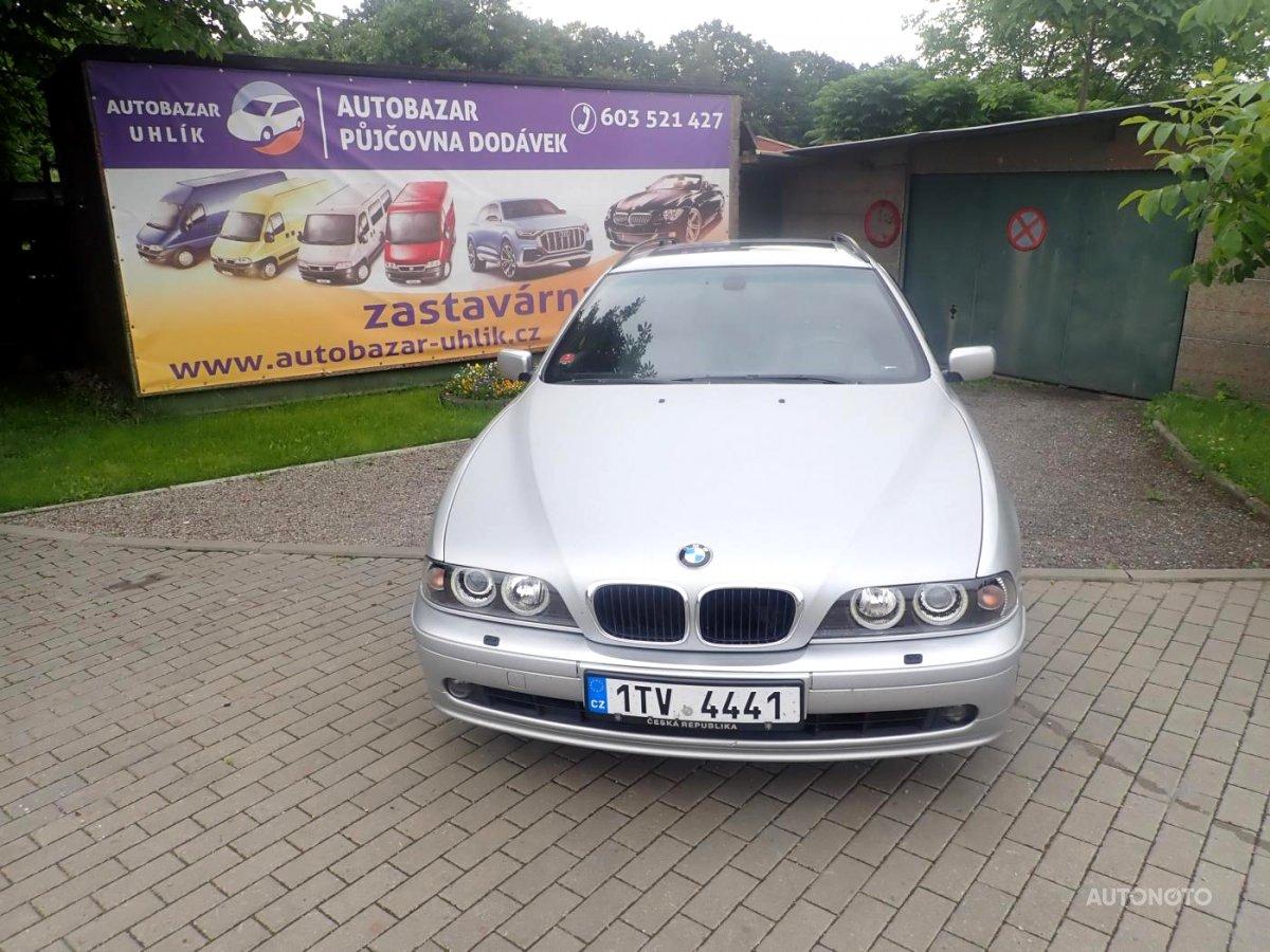 BMW Řada 5, 2002 - celkový pohled
