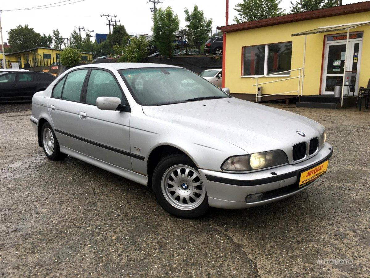 BMW Řada 5, 1999 - celkový pohled