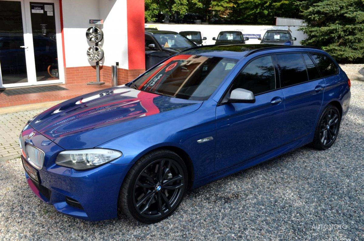 BMW Řada 5, 2012 - celkový pohled
