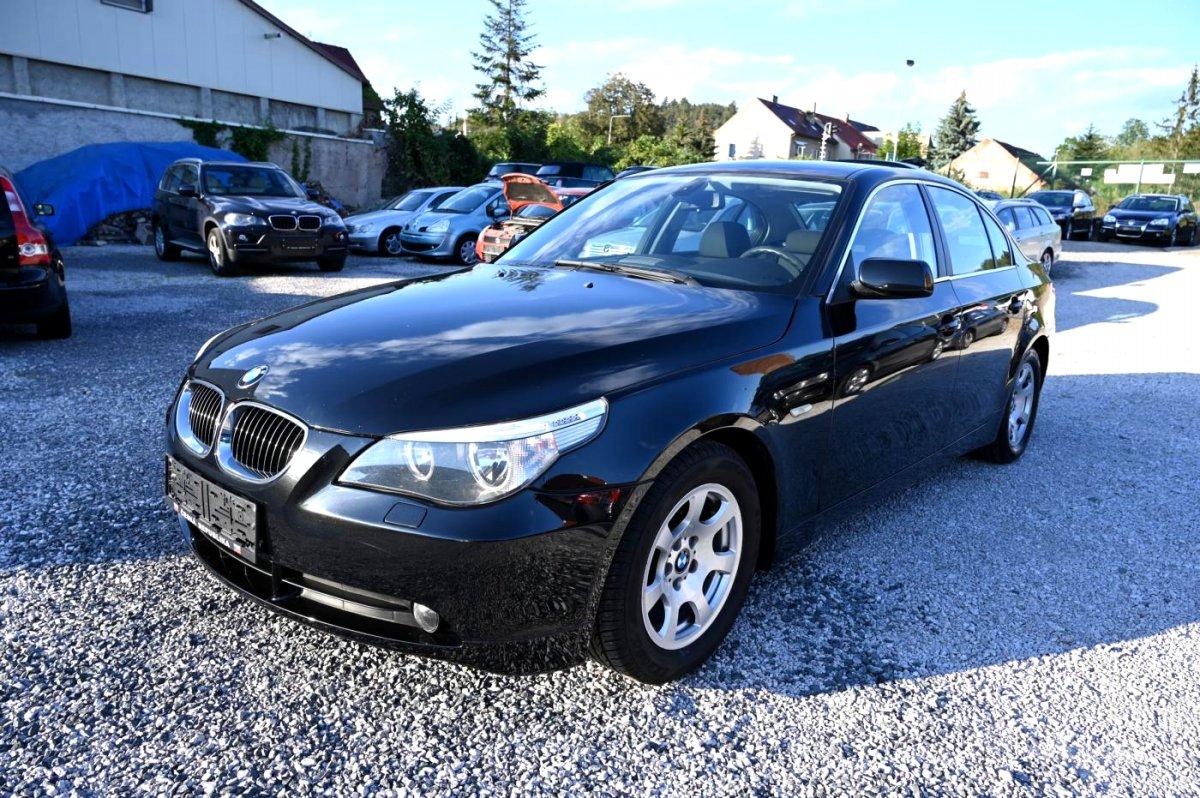 BMW Řada 5, 2005 - celkový pohled