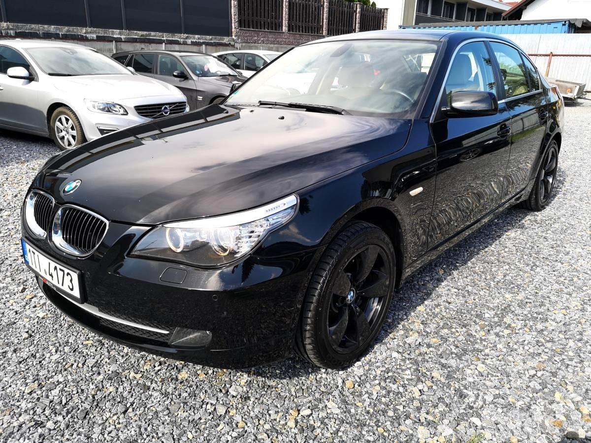 BMW Řada 5, 2008 - celkový pohled