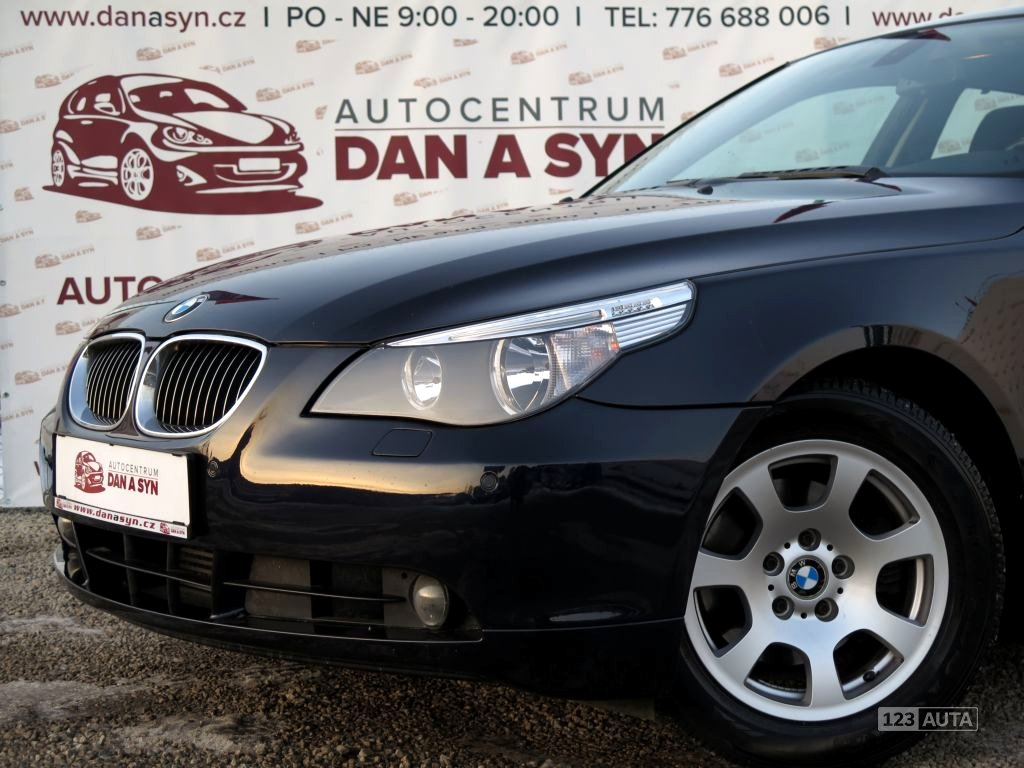 BMW Řada 5, 2006 - celkový pohled