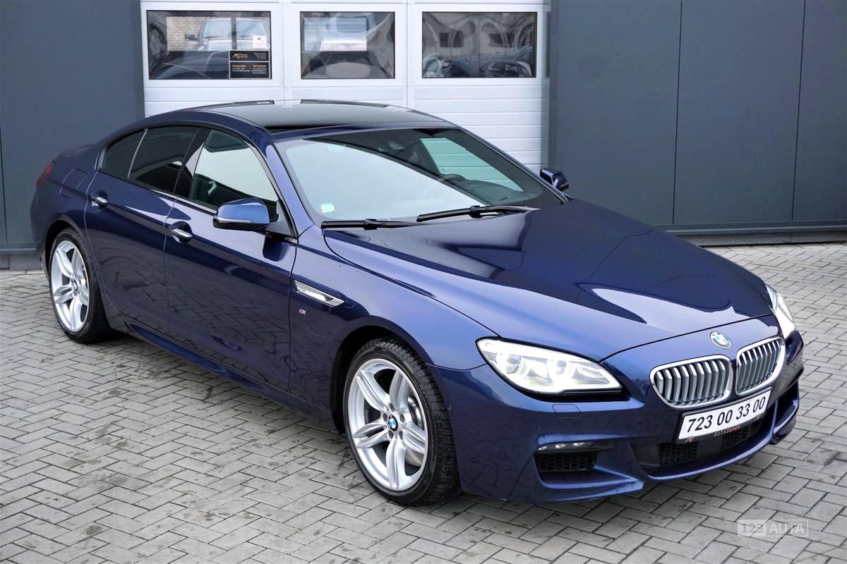 BMW Řada 6, 2015 - celkový pohled