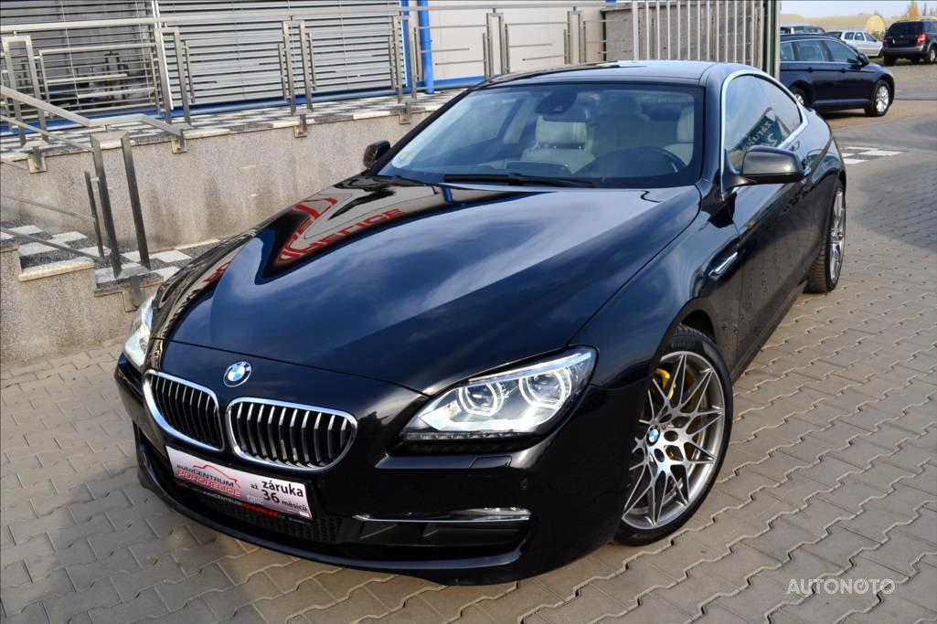 BMW Řada 6, 0 - celkový pohled