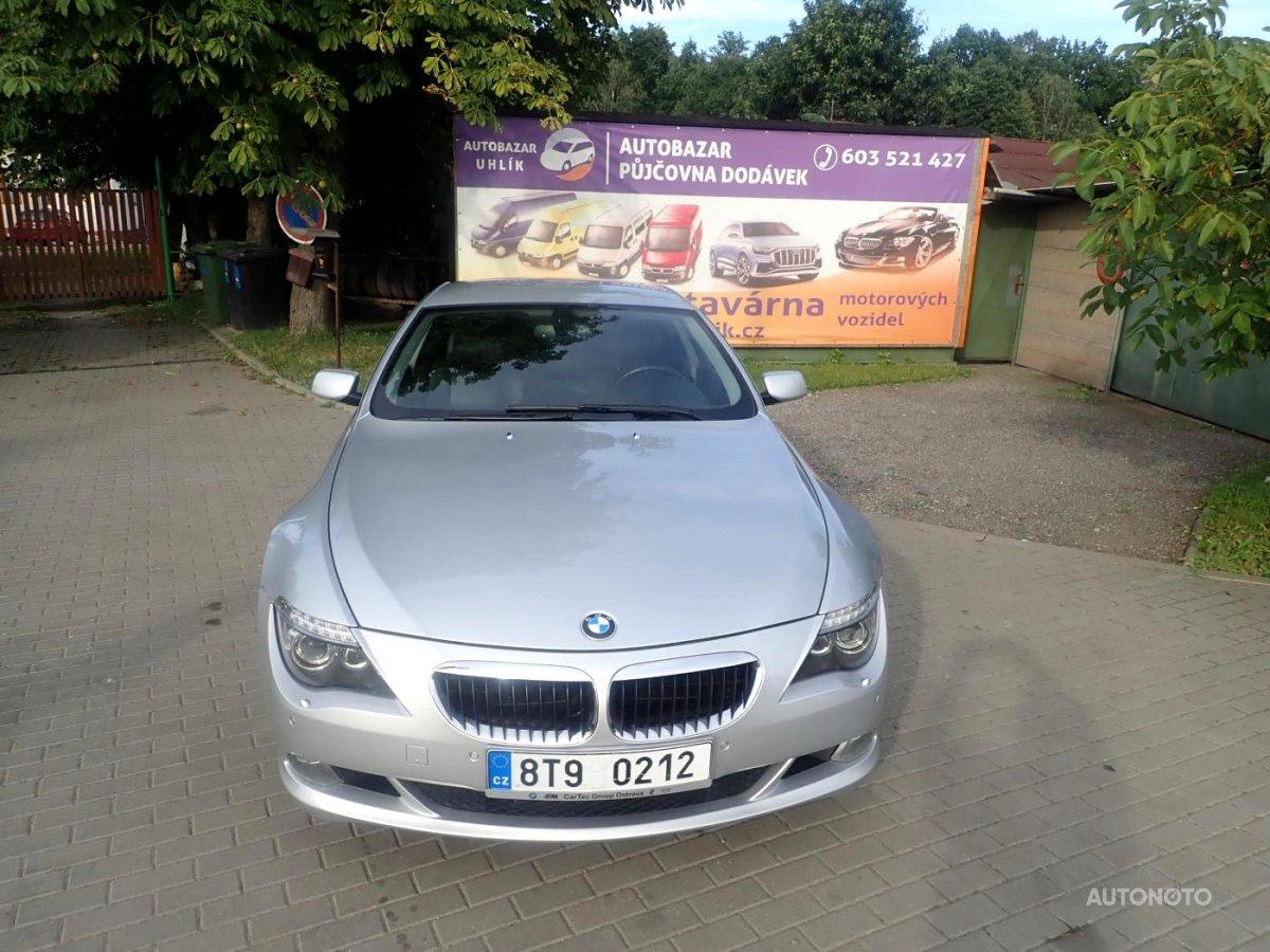 BMW Řada 6, 2007 - celkový pohled