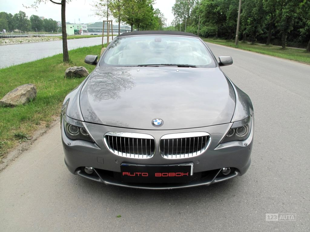 BMW Řada 6, 2004 - celkový pohled