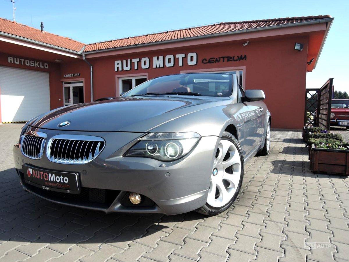 BMW Řada 6, 2006 - celkový pohled