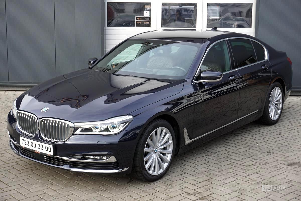 BMW Řada 7, 2016 - celkový pohled