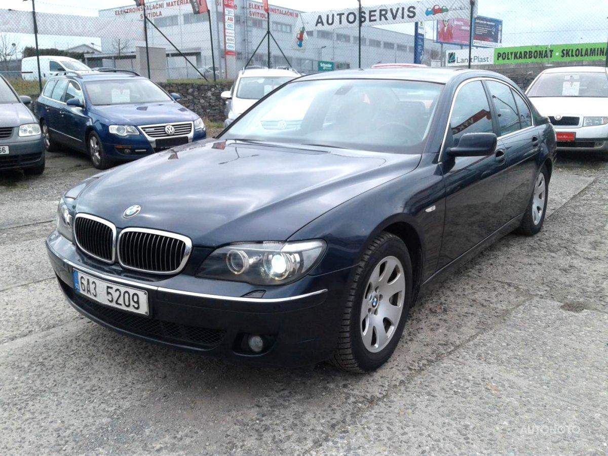 BMW Řada 7, 2006 - celkový pohled