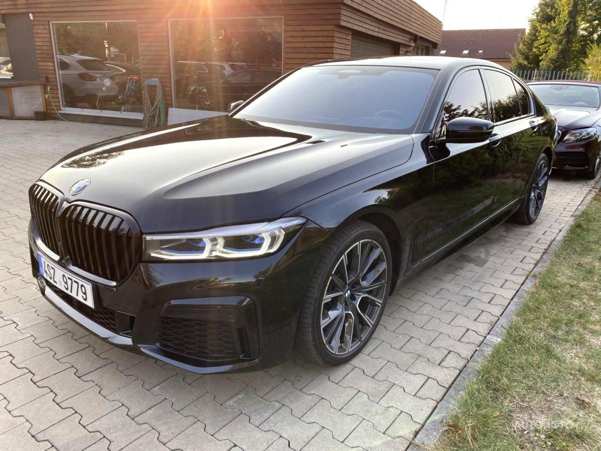 BMW Řada 7, 2020 - celkový pohled