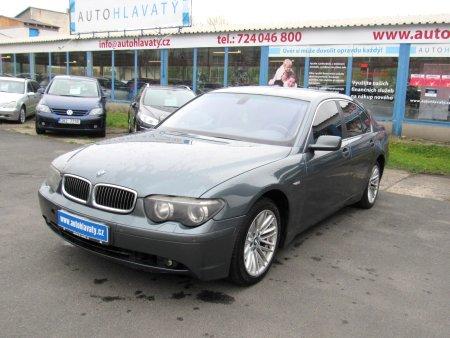 BMW Řada 7, 2002