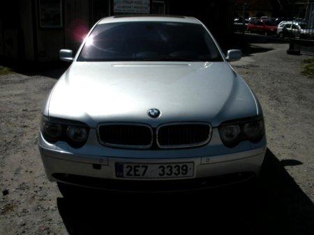 BMW Řada 7, 2001