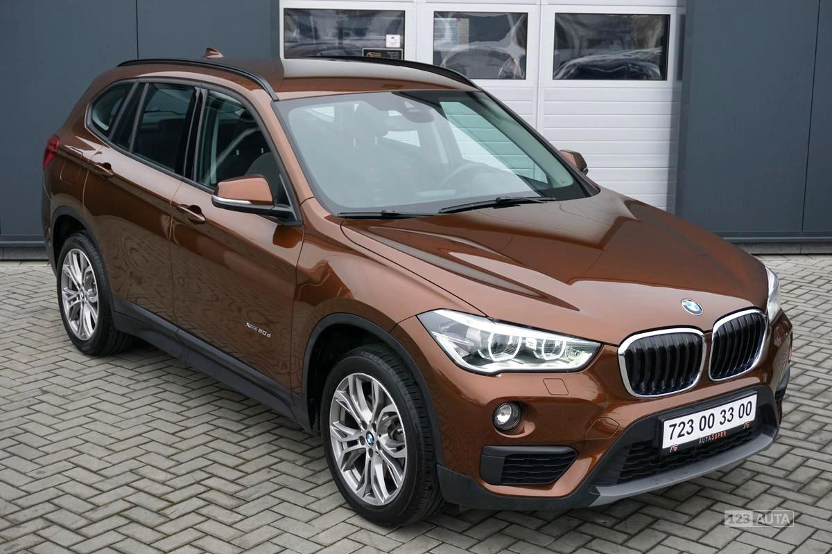 BMW X1, 2016 - celkový pohled
