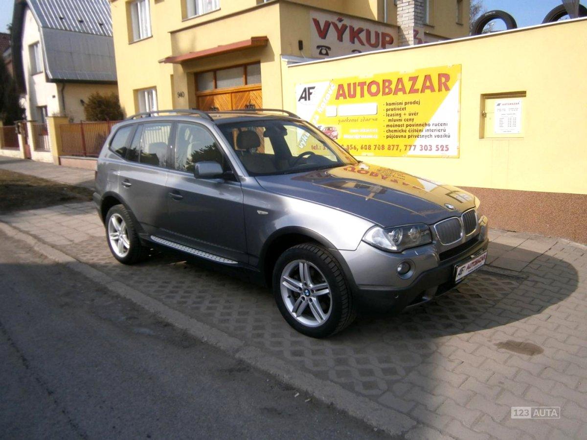BMW X3, 2009 - celkový pohled