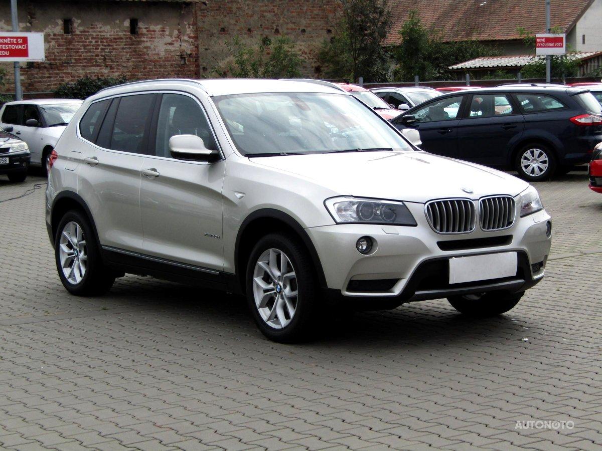BMW X3, 2012 - celkový pohled