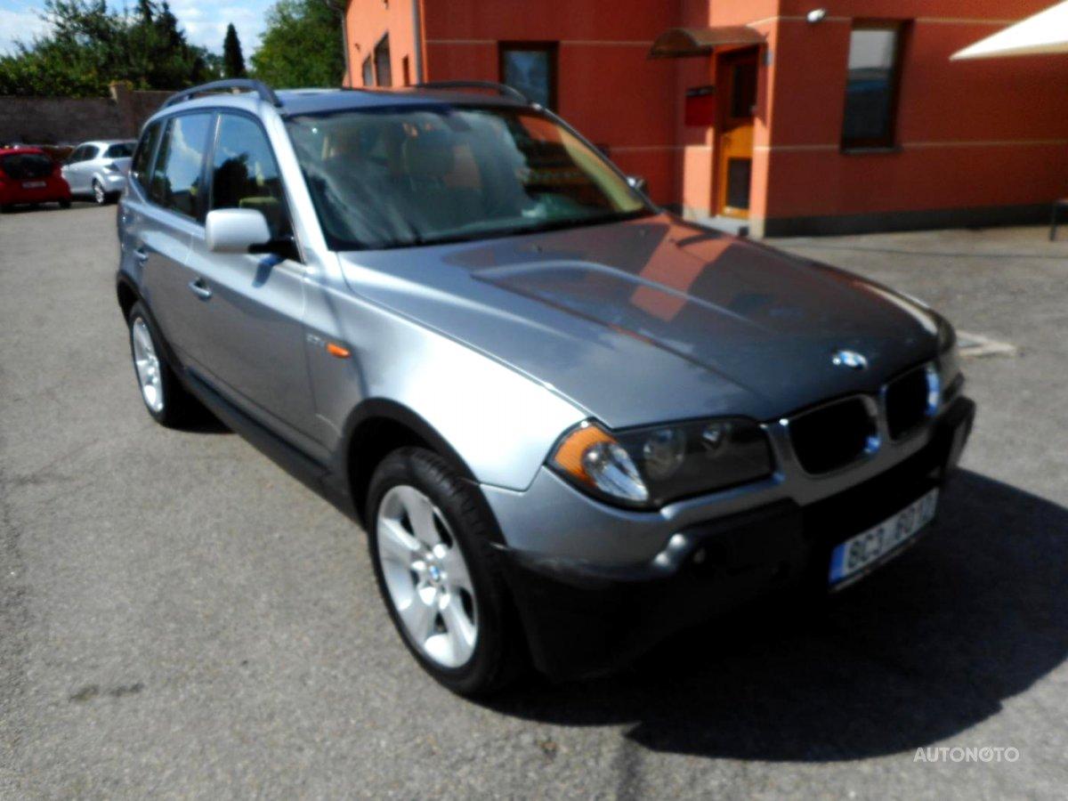 BMW X3, 2004 - celkový pohled
