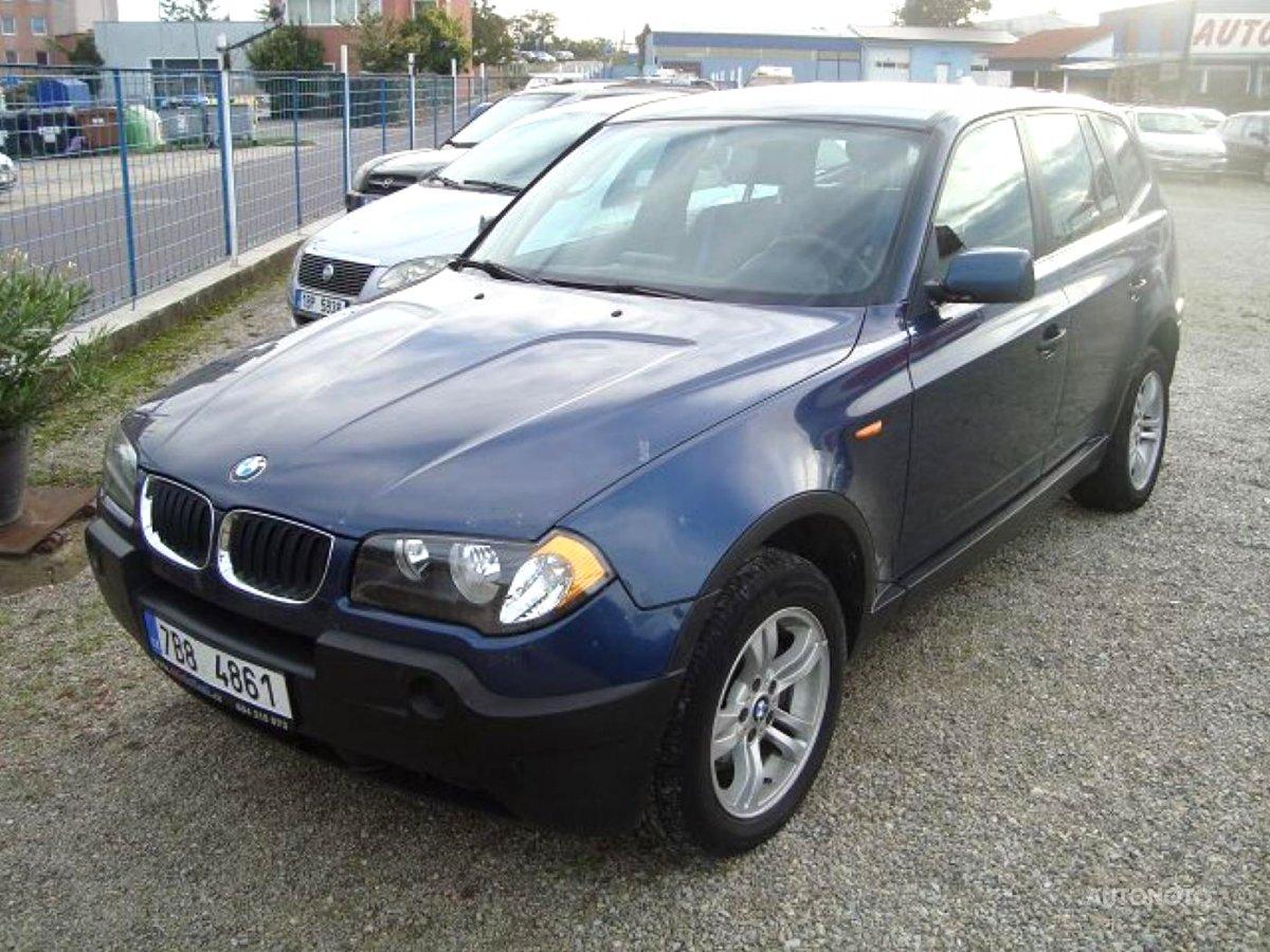 BMW X3, 2005 - celkový pohled