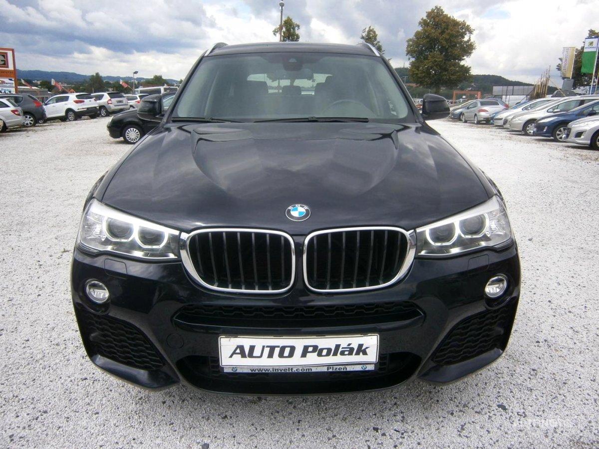 BMW X3, 2015 - celkový pohled