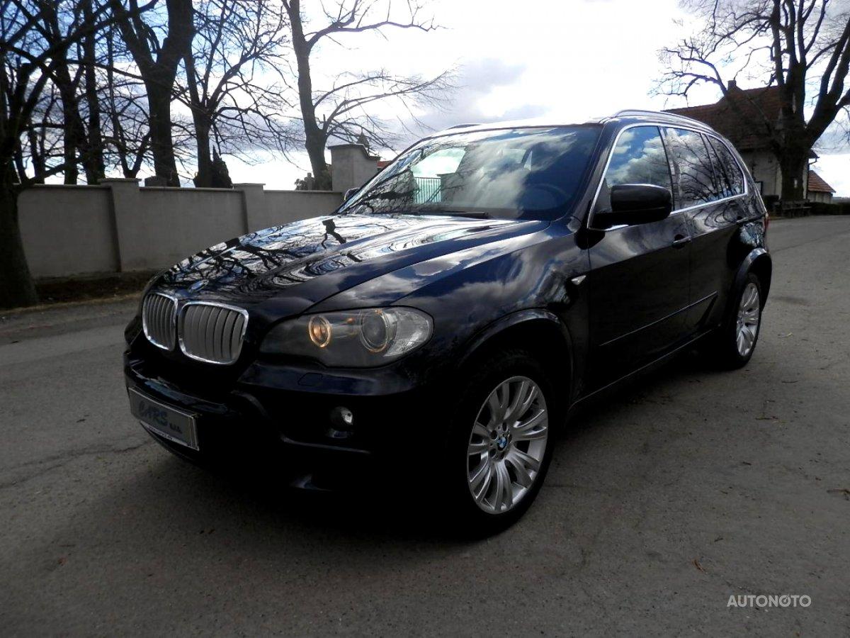 BMW X5, 2008 - celkový pohled