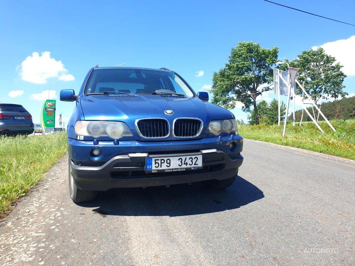 BMW X5, 2001 - celkový pohled