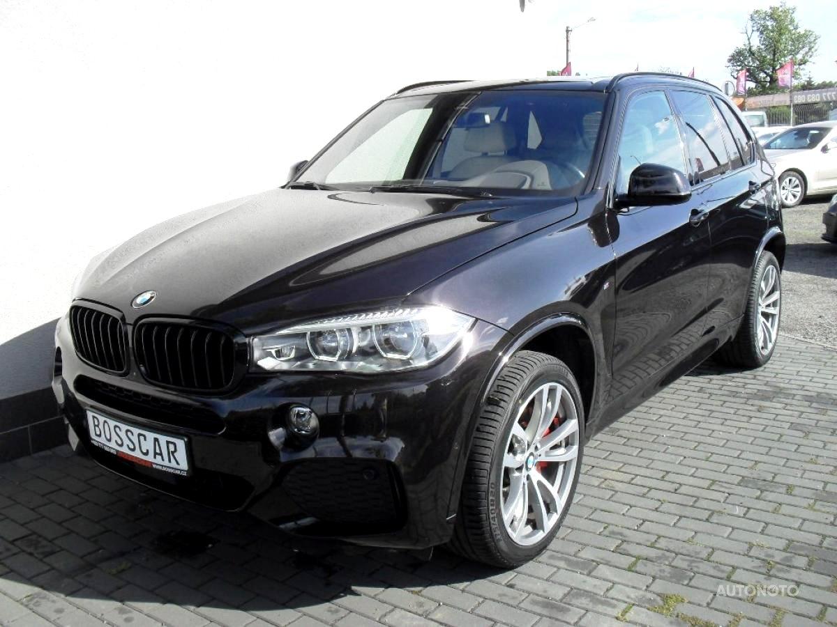 BMW X5, 2016 - celkový pohled